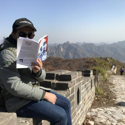 Lecture sur la Grande Muraille de Chine ...