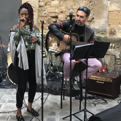 Jowana & David à la Fête de la musique