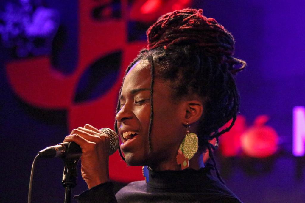 Jowana au Jazz Café Montparnasse