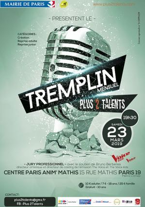 Affiche tremplin plus 2 talents 230319