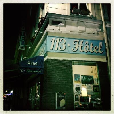 Hotel 113 les chansonniers