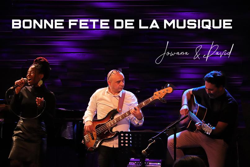 Jowana david fete de la musique 2019