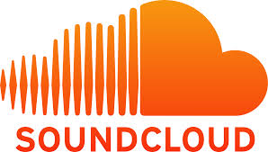 Logo soundcloud blanc