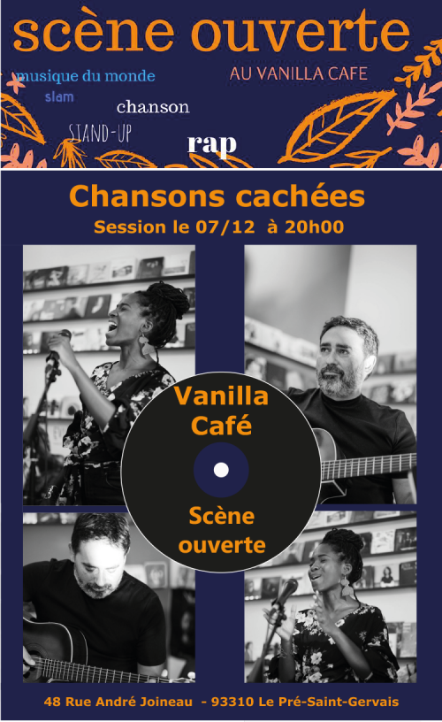 Vanilla cafe chansons cachees