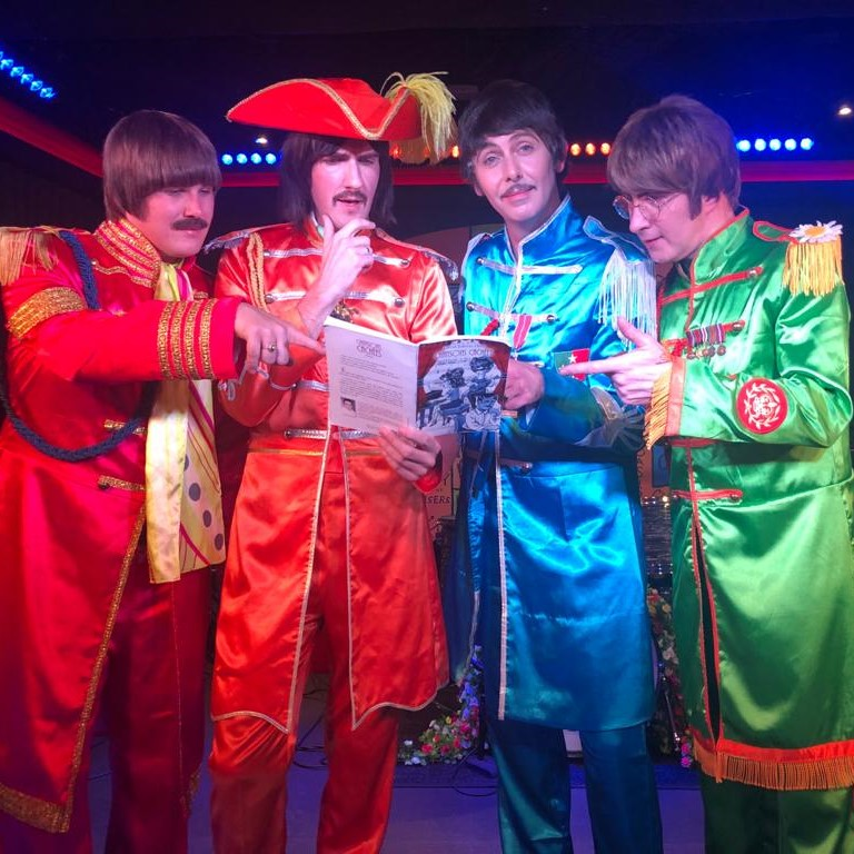 Même les Beatles s'y mettent ...