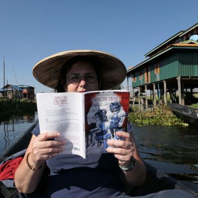 Lecture sur le lac Inlé - Myanmar