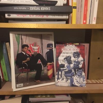 A Bordeaux, en bonne place dans ma bibliothèque !