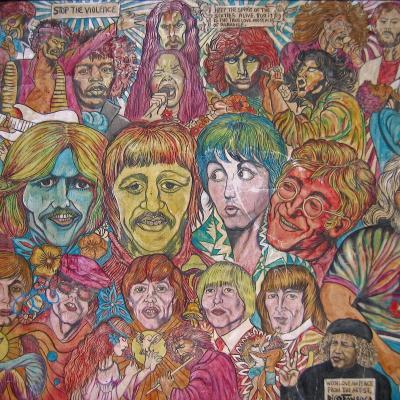 Si j'avais eu du talent - Street art from Whashington square NY