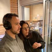 Amaury & Fanny - Studio session