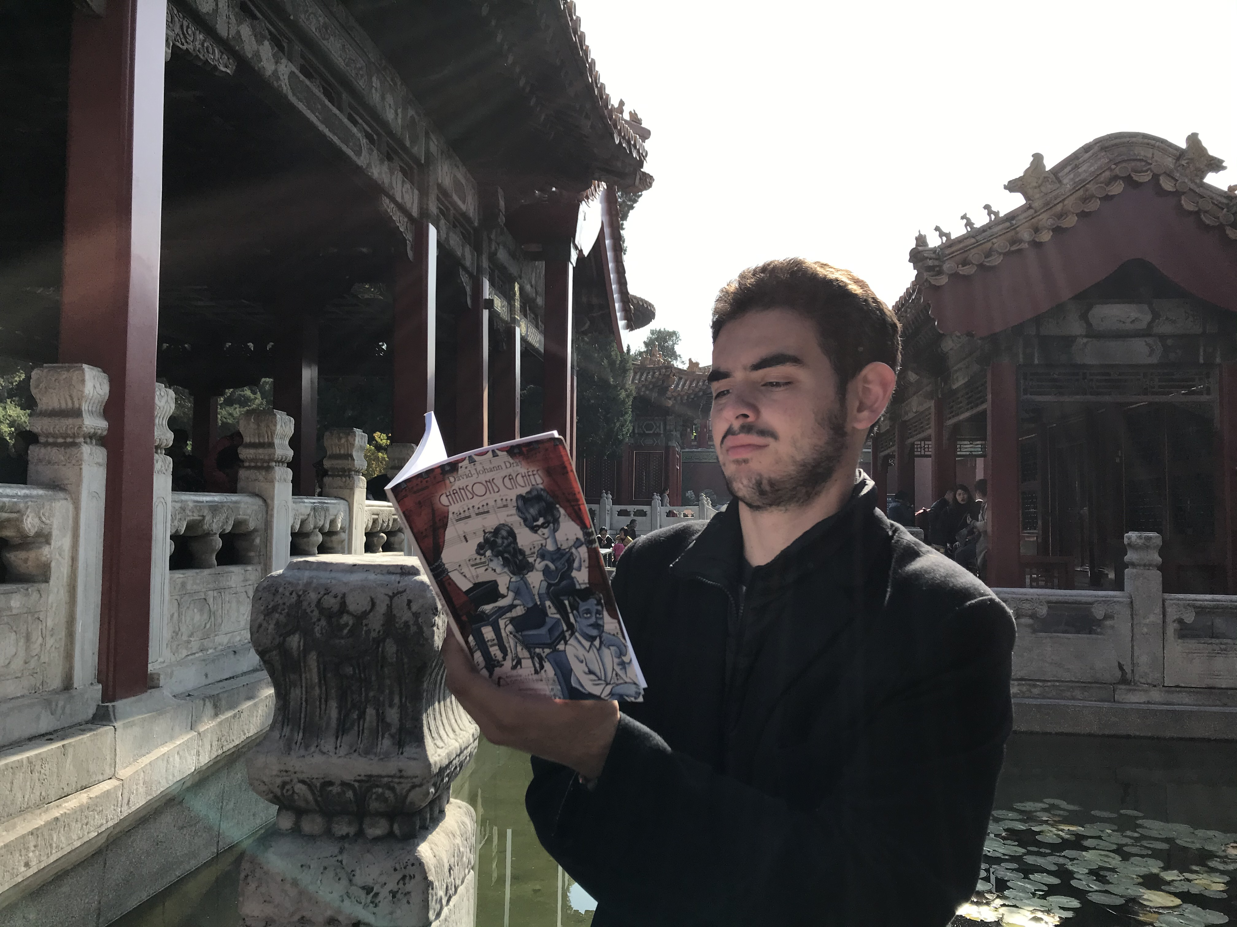 Lecture à la Cité Interdite - Pékin